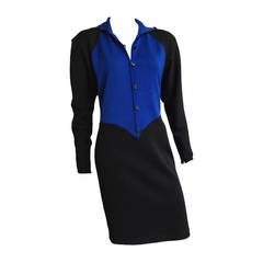 Emanuel Ungaro 80s Knit Dress Size 8.