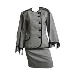 Christian Dior 80s Skirt Suit Size 4.