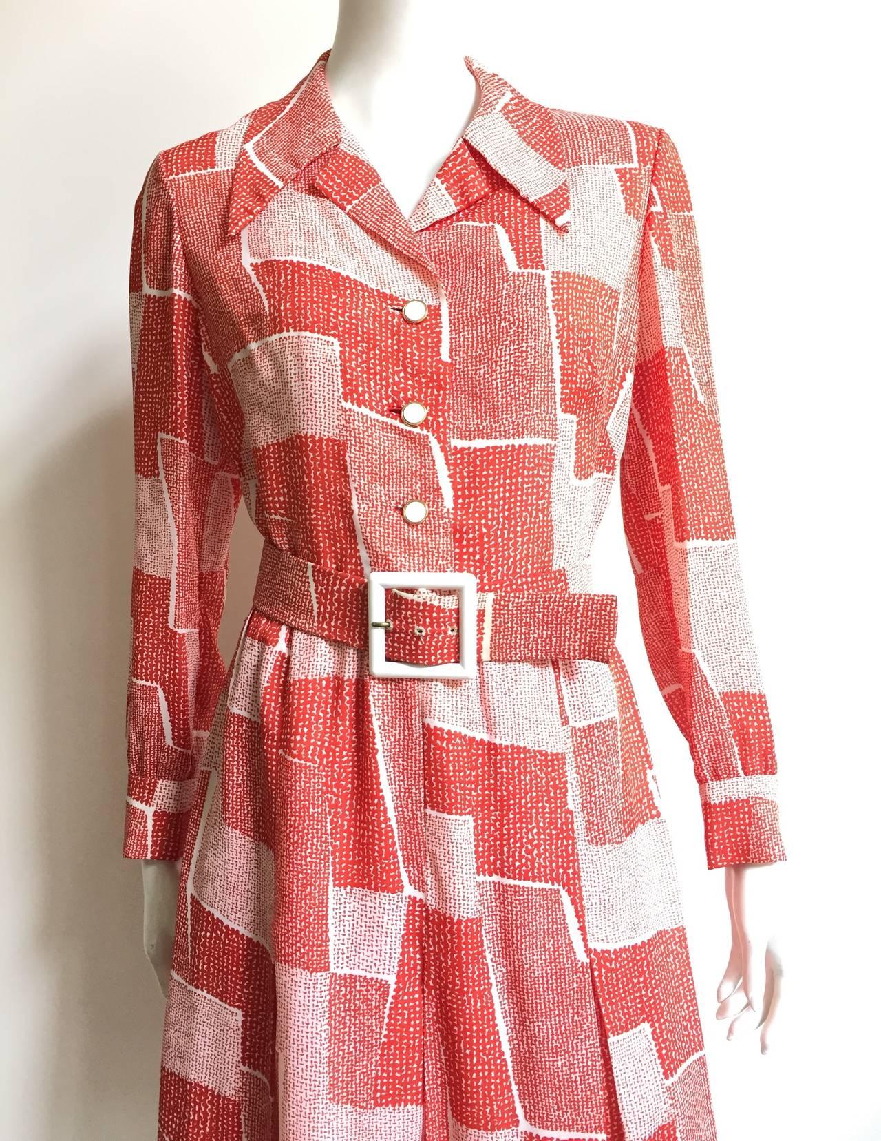 Adele Simpson 70s Dress Size 8. 2