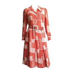 Adele Simpson 70s Dress Size 8.