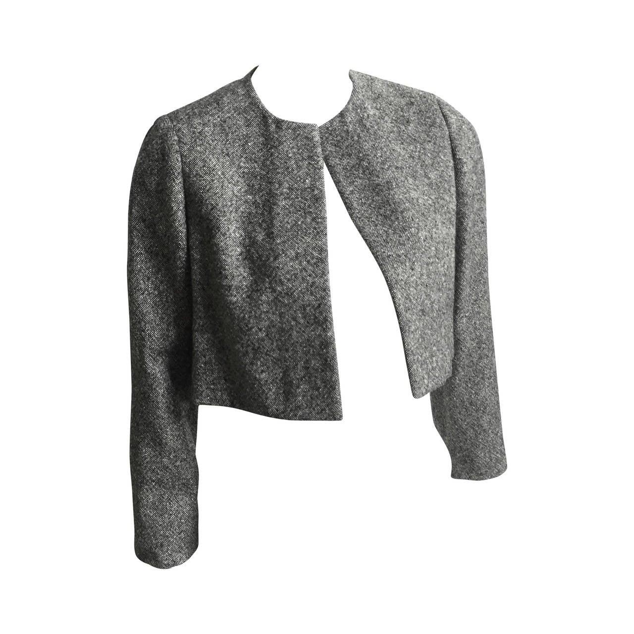 Pauline Trigere Cropped Jacket Size 6