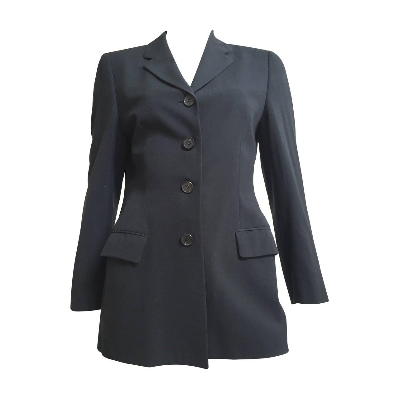 Loro Piana Wool Jacket Size 8  For Sale