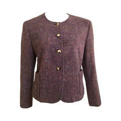 Celine 60s Wool Jacket Size 8.