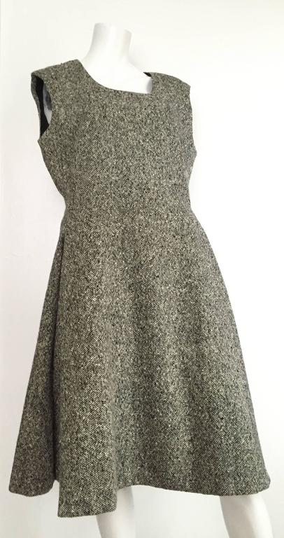 Gustave Tassell 1965 wool dress with jacket size 12 / 14.  2