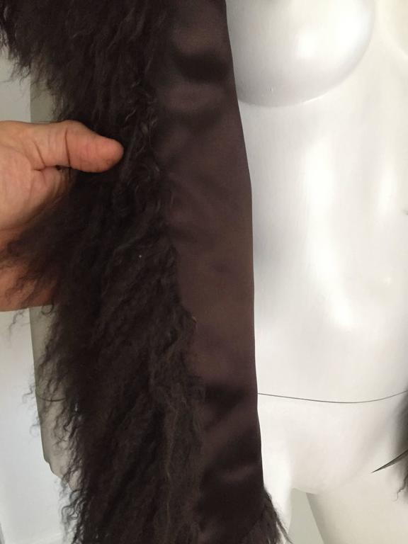 Sonia Rykiel Mongolian Fur Vest Size 6 / 8.  6