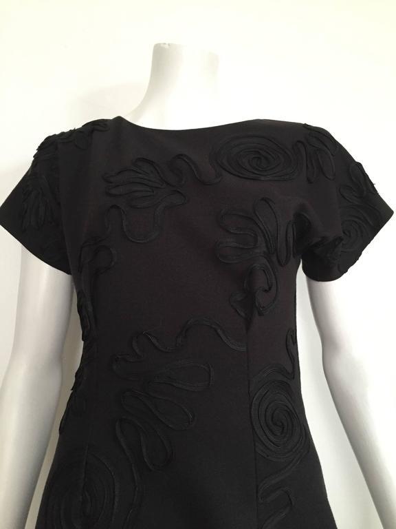 Leo Narducci 80s little black dress size 4.  2