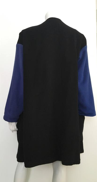 Patrick Kelly Paris 80s Cashmere Coat Size 8 / 10. 6