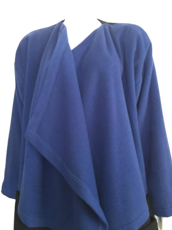 Patrick Kelly Paris 80s Cashmere Coat Size 8 / 10. 2