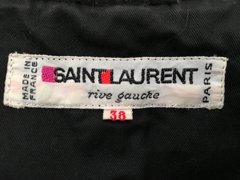 Saint Laurent Rive Gauche Russian Collection Corset Lace Top Size 0 / 2, 1976  For Sale 4