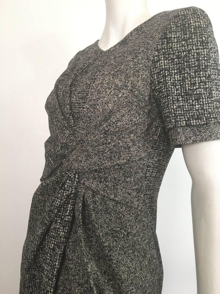 Paule Ka Cotton Black & Grey Casual Dress Size 10 / 12. For Sale 7