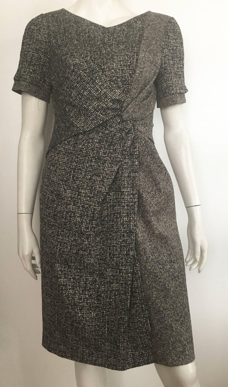 Women's or Men's Paule Ka Cotton Black & Grey Casual Dress Size 10 / 12. For Sale