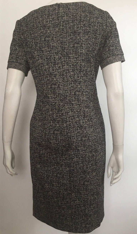 Paule Ka Cotton Black & Grey Casual Dress Size 10 / 12. For Sale 8