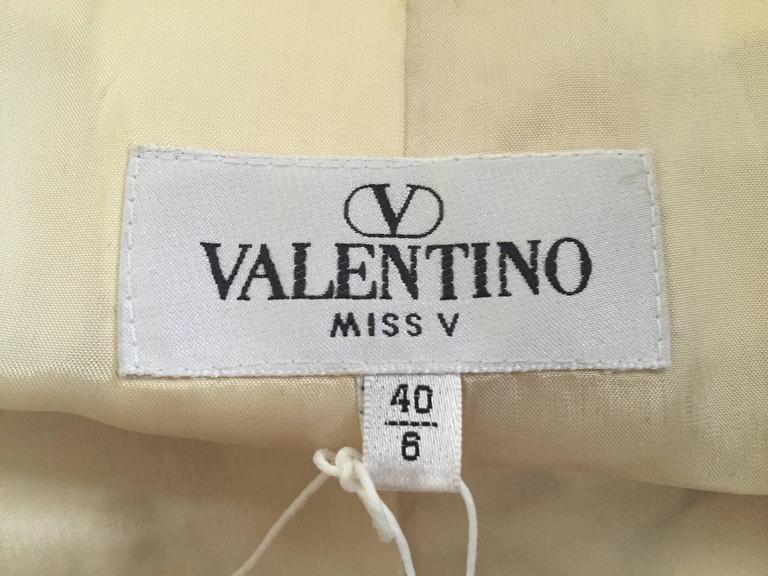 Valentino 90s Silk Jacket Size 4. 8