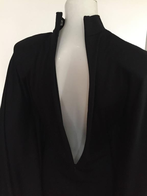 Patrick Kelly Paris 80s Black Dress Size Small. 7