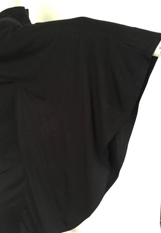 Patrick Kelly Paris 80s Black Dress Size Small. 2