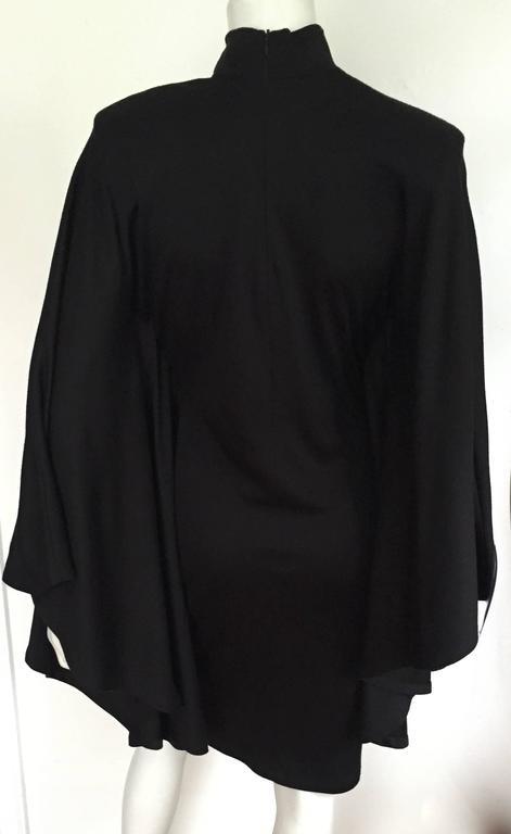 Women's Patrick Kelly Paris 80s Black Dress Size Small. For Sale