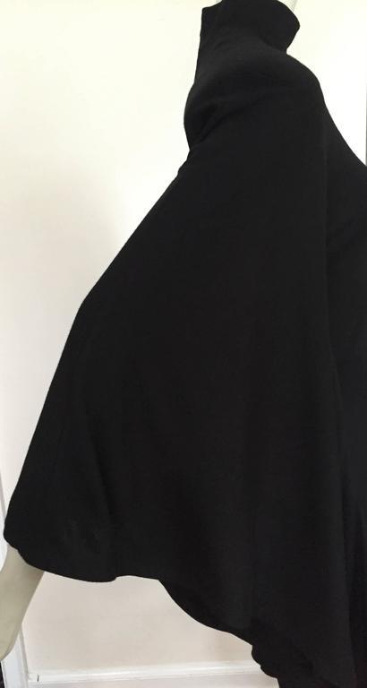 Patrick Kelly Paris 80s Black Dress Size Small. For Sale 2