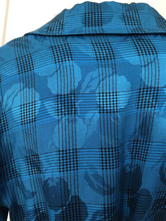 Oscar de la Renta 80s silk blouse & skirt size 4. For Sale 2