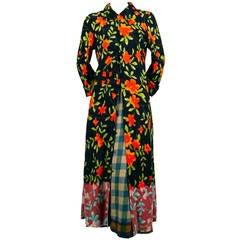 1993 COMME DES GARCONS long jacket and skirt ensemble