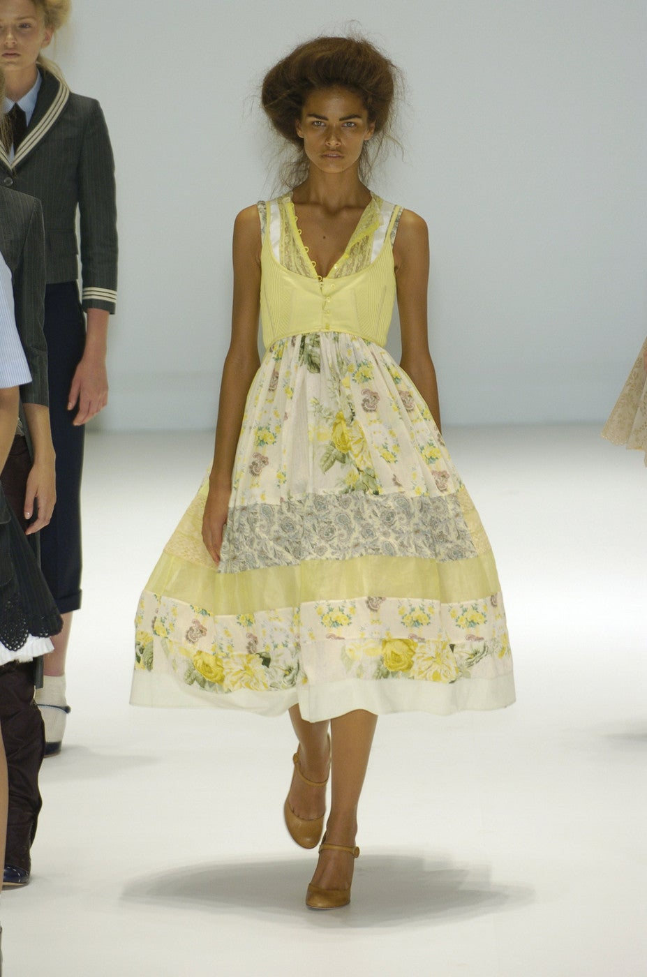ALEXANDER MCQUEEN 'It Is Only A Game' runway dress - Spring 2005 For Sale 1