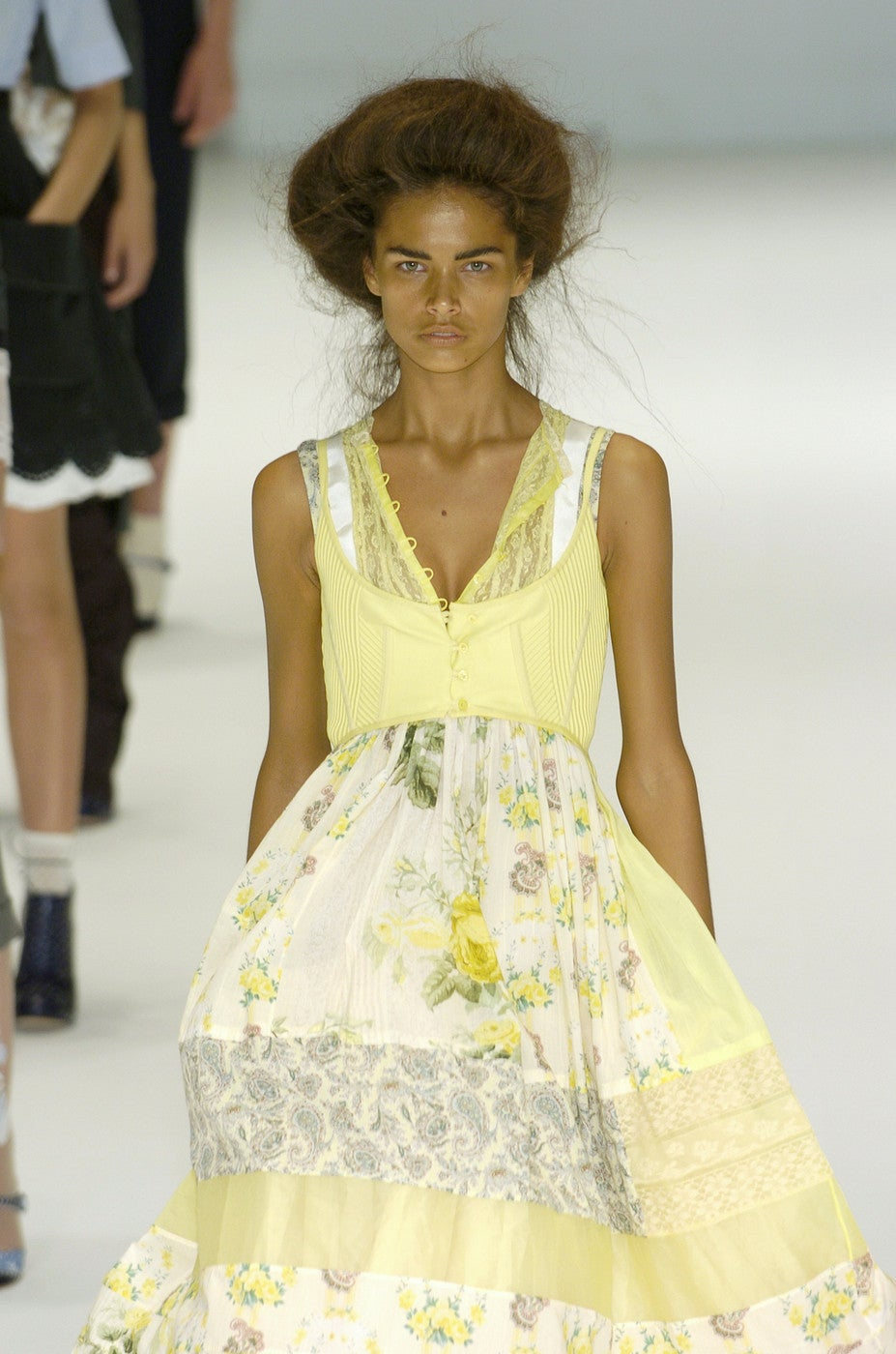 ALEXANDER MCQUEEN 'It Is Only A Game' runway dress - Spring 2005 For Sale 2