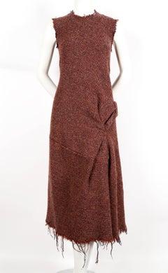 2003 JUNYA WATANABE COMME DES GARCONS tweed runway dress