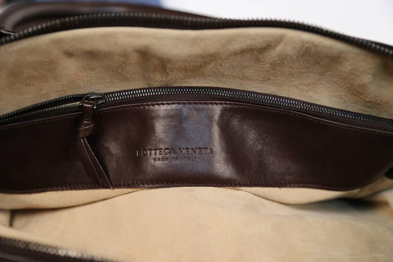 BOTTEGA VENETA oversized brown intrecciato woven leather tote bag 6