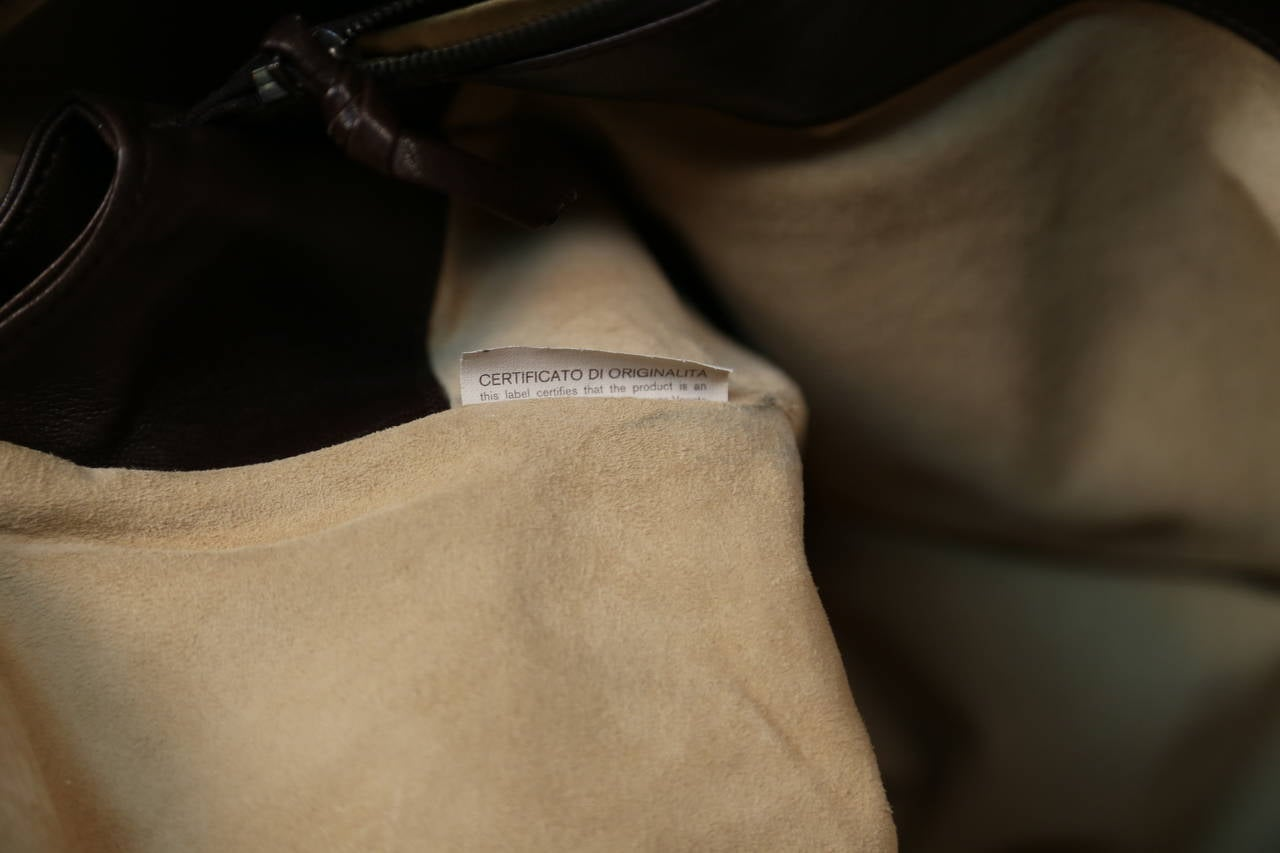 BOTTEGA VENETA oversized brown intrecciato woven leather tote bag 7