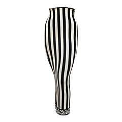 1992 AZZEDINE ALAIA black and white striped skirt