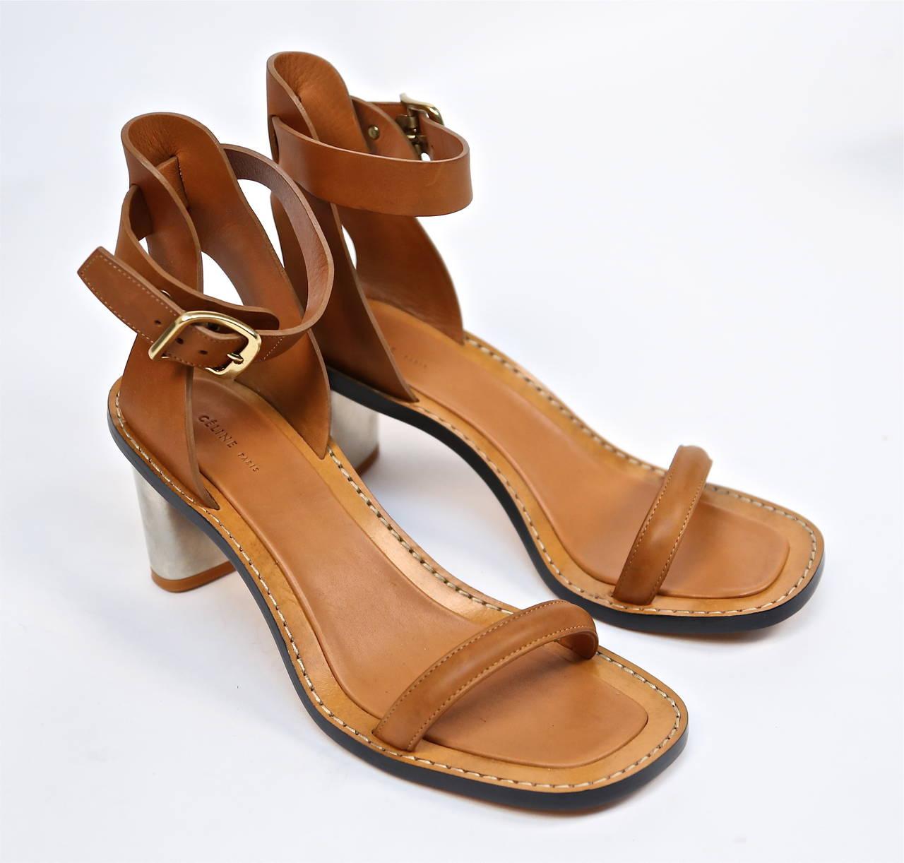 Céline Leather Sandal VjWNOol