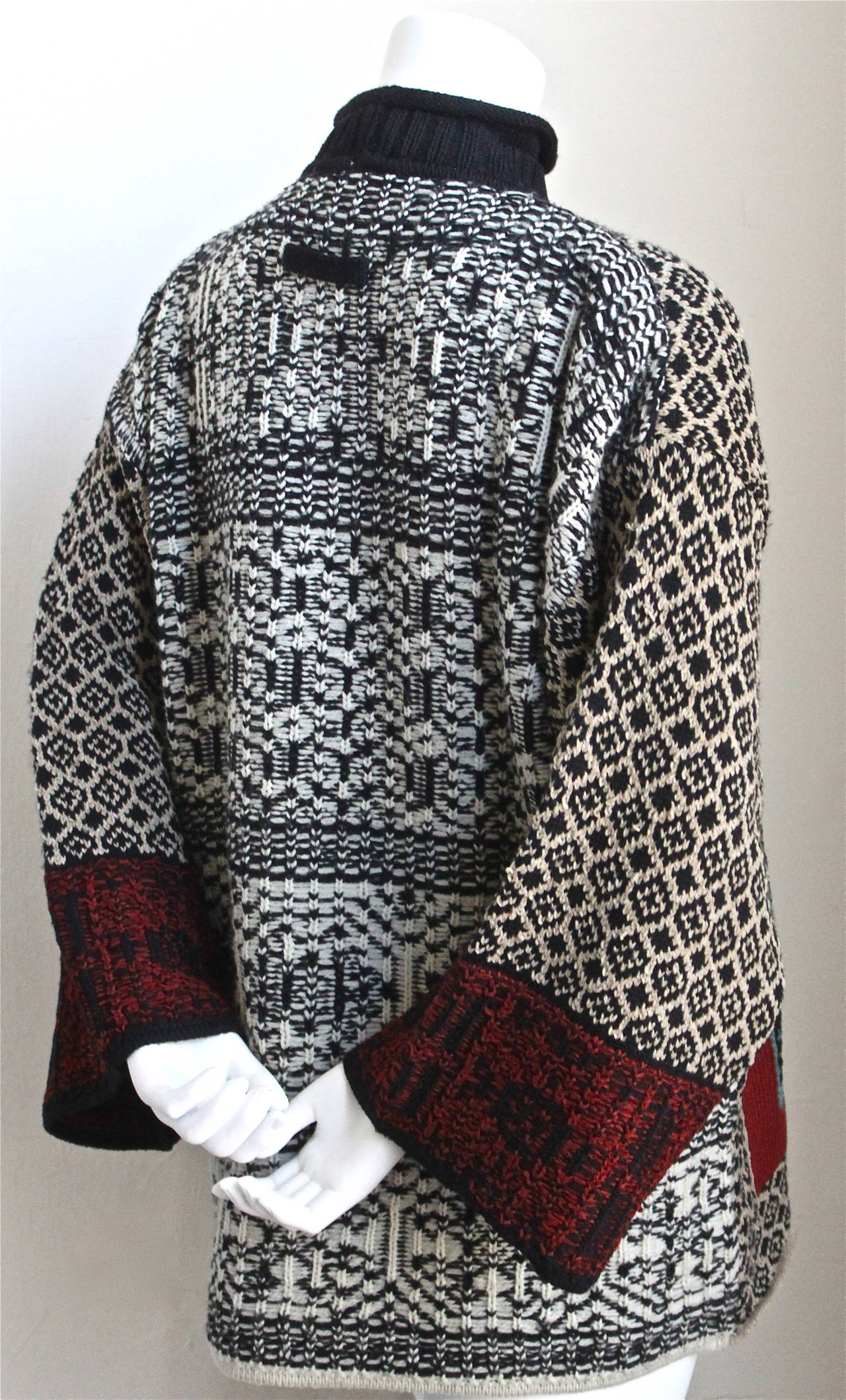 1994 JEAN PAUL GAULTIER 'le grande voyage' runway sweater. 2