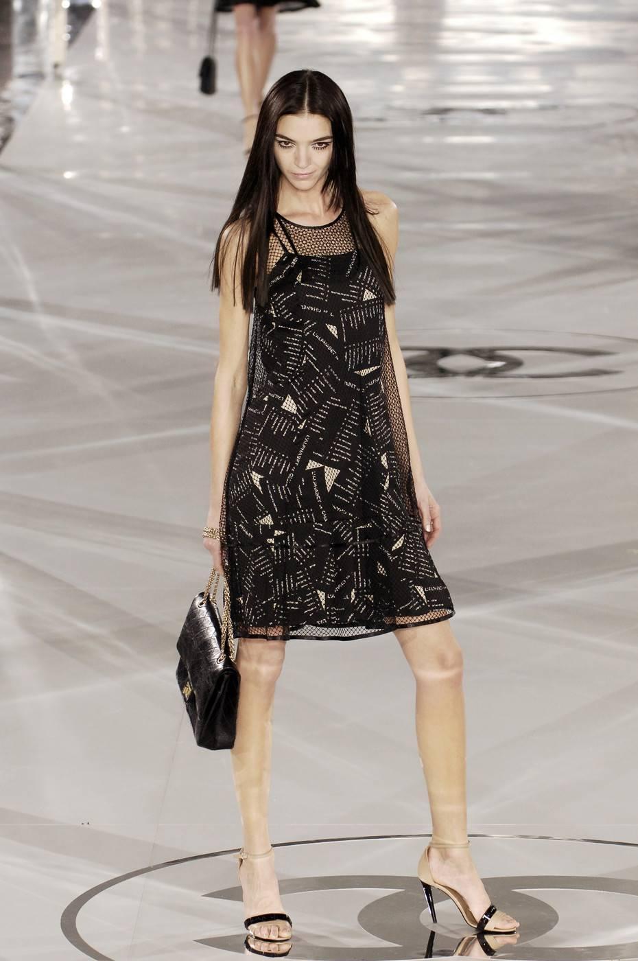 Sheer dresses runway