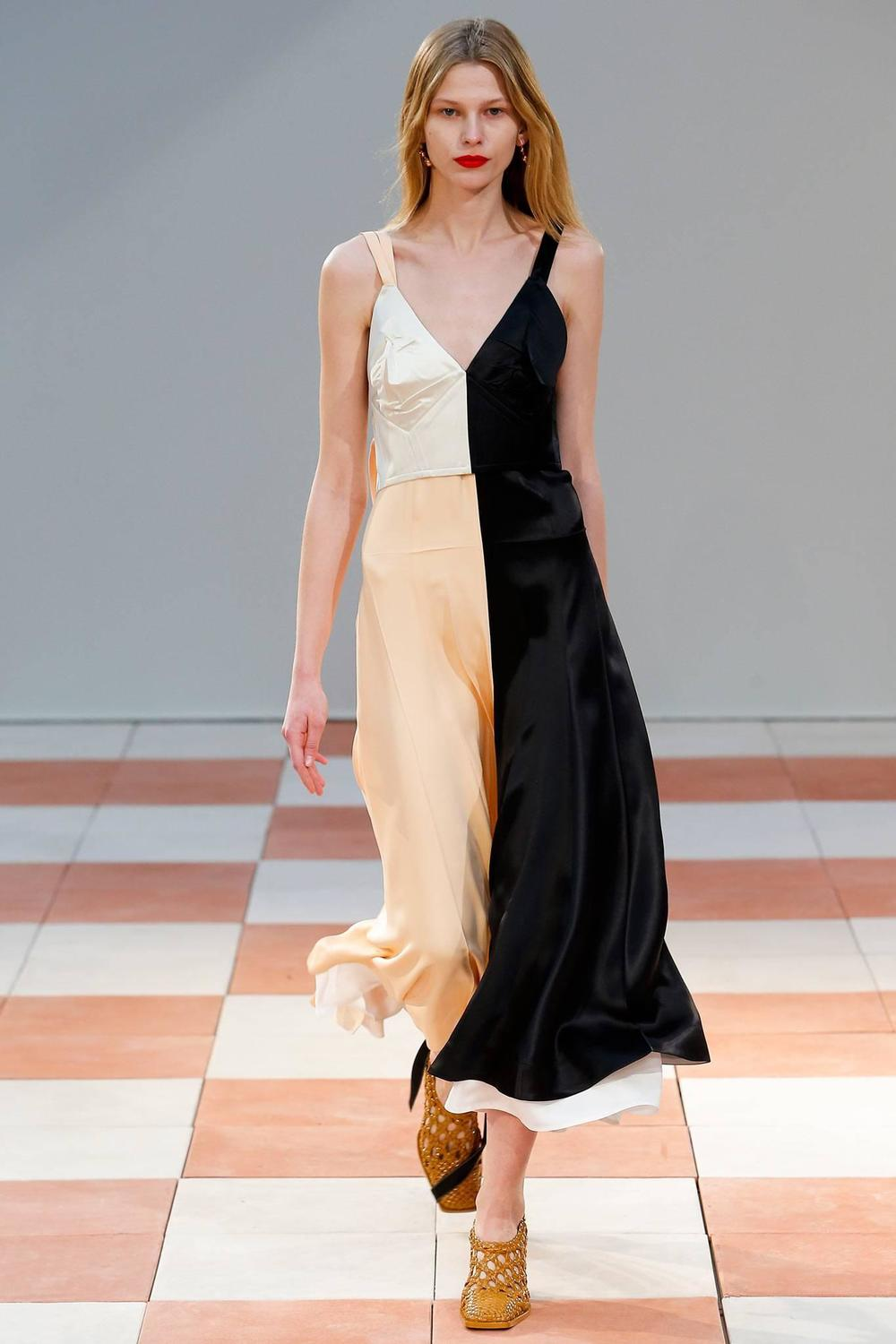 Celine By Phoebe Philo Runway Silk Slip Dress For Sale At 1stdibs