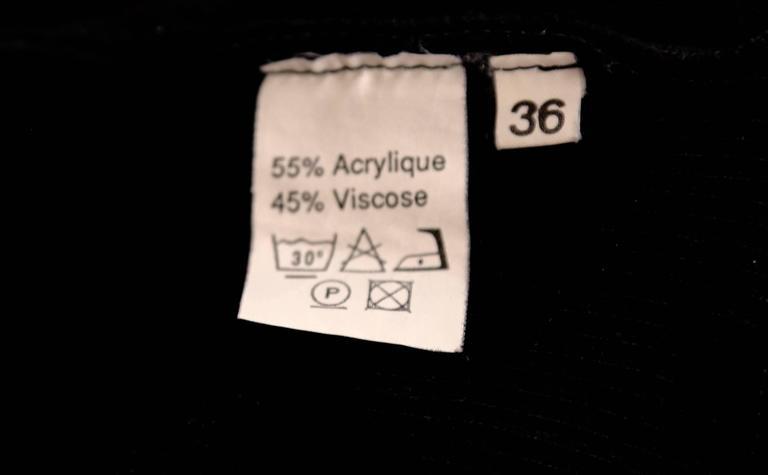 Women's or Men's 1980's AZZEDINE ALAIA black romper For Sale