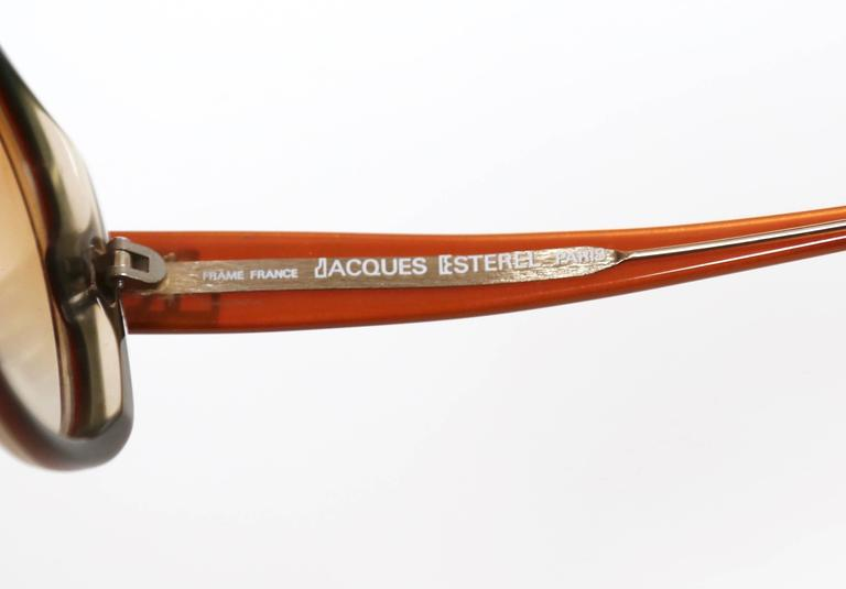 unworn 1970'S JACQUES ESTEREL oversized sunglasses 4