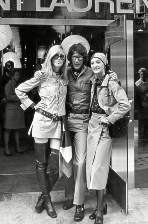 very rare 1968 YVES SAINT LAURENT safari tunic 7