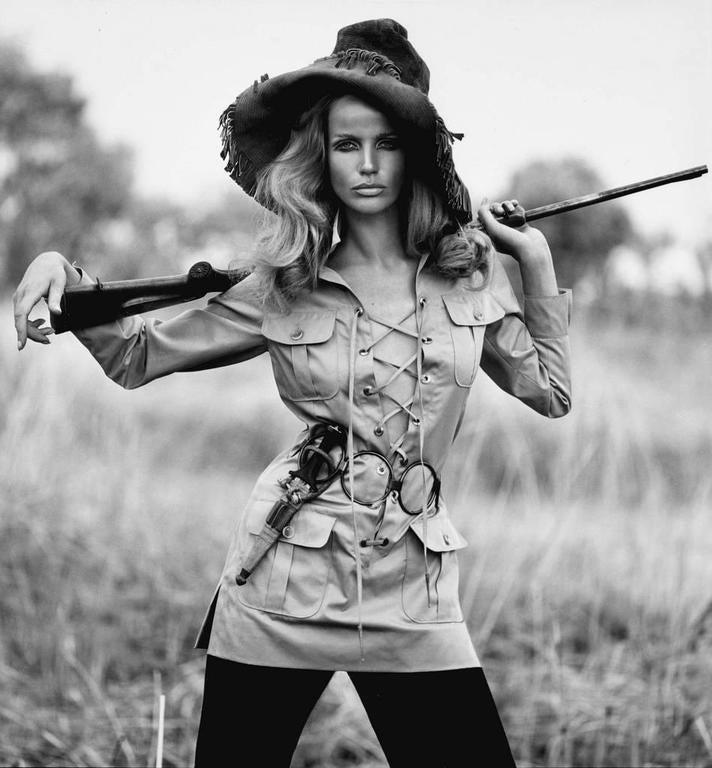 "Iconic YVES SAINT LAURENT ""Saharienne"" khaki tunic safari tunic 7"