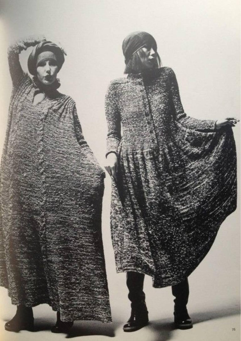 1974 ISSEY MIYAKE documented space dyed knit dress 7
