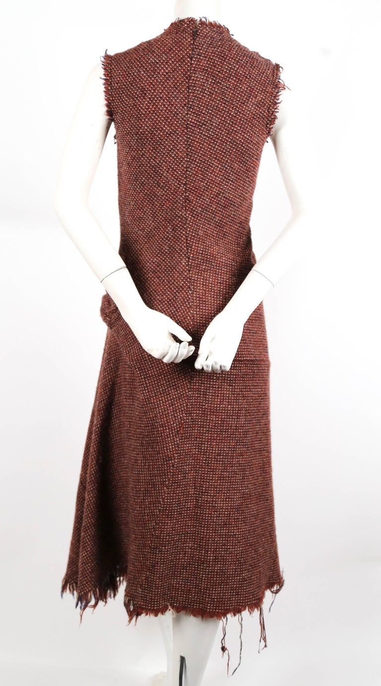 Junya Watanabe Comme des Garcons tweed runway dress, 2003   In Excellent Condition For Sale In San Fransisco, CA