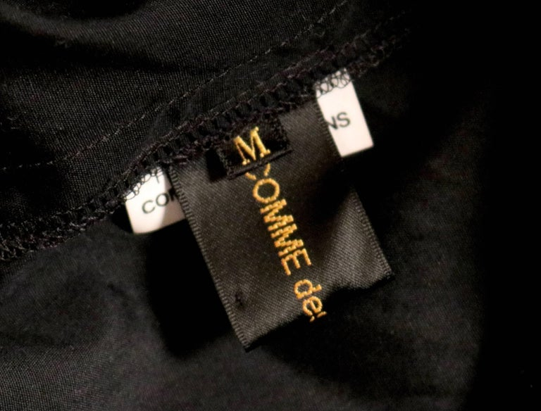 2003 COMME DES GARCONS black knotted dress For Sale 1