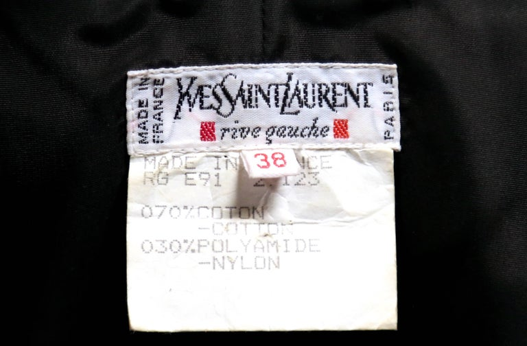 Women's 1992 Yves Saint Laurent lace mini dress with sequins and sheer  For Sale