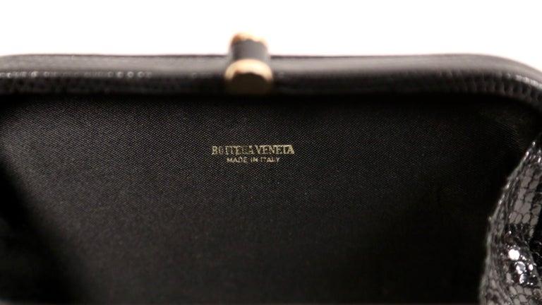 1980's BOTTEGA VENETA karung lizard clutch bag  For Sale 2