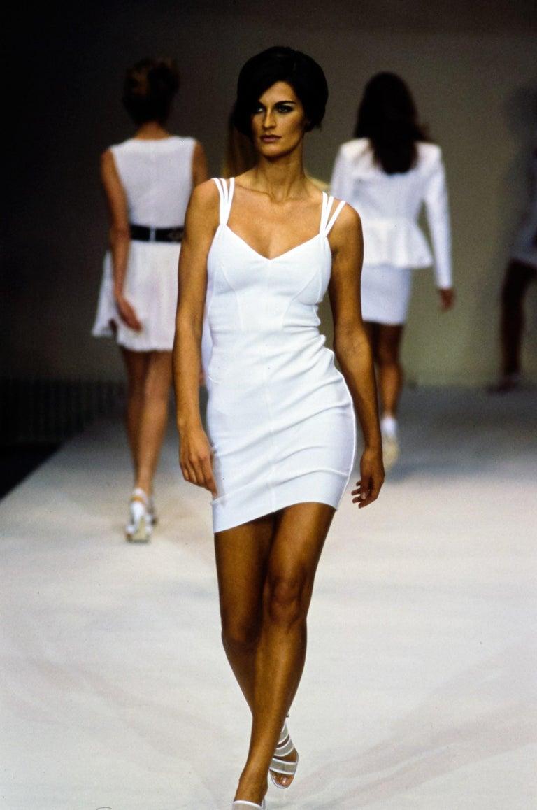 AZZEDINE ALAIA black runway dress, 1990 2
