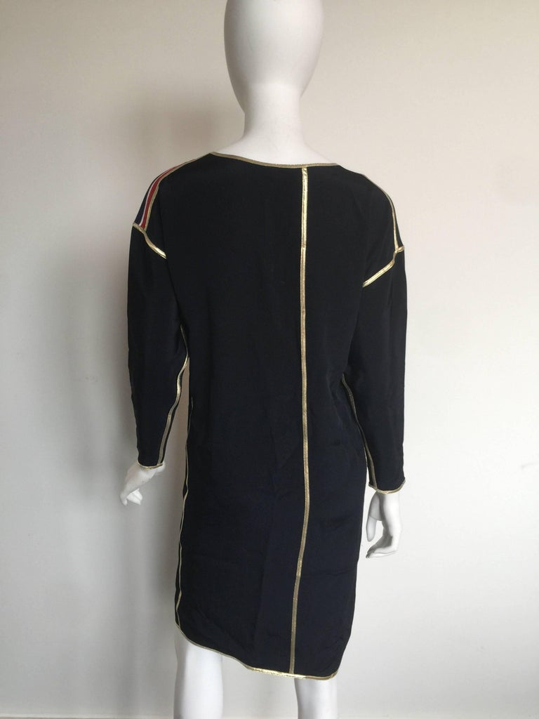 Geoffrey Beene Rainbow asymmetrical Stripe Dress 4