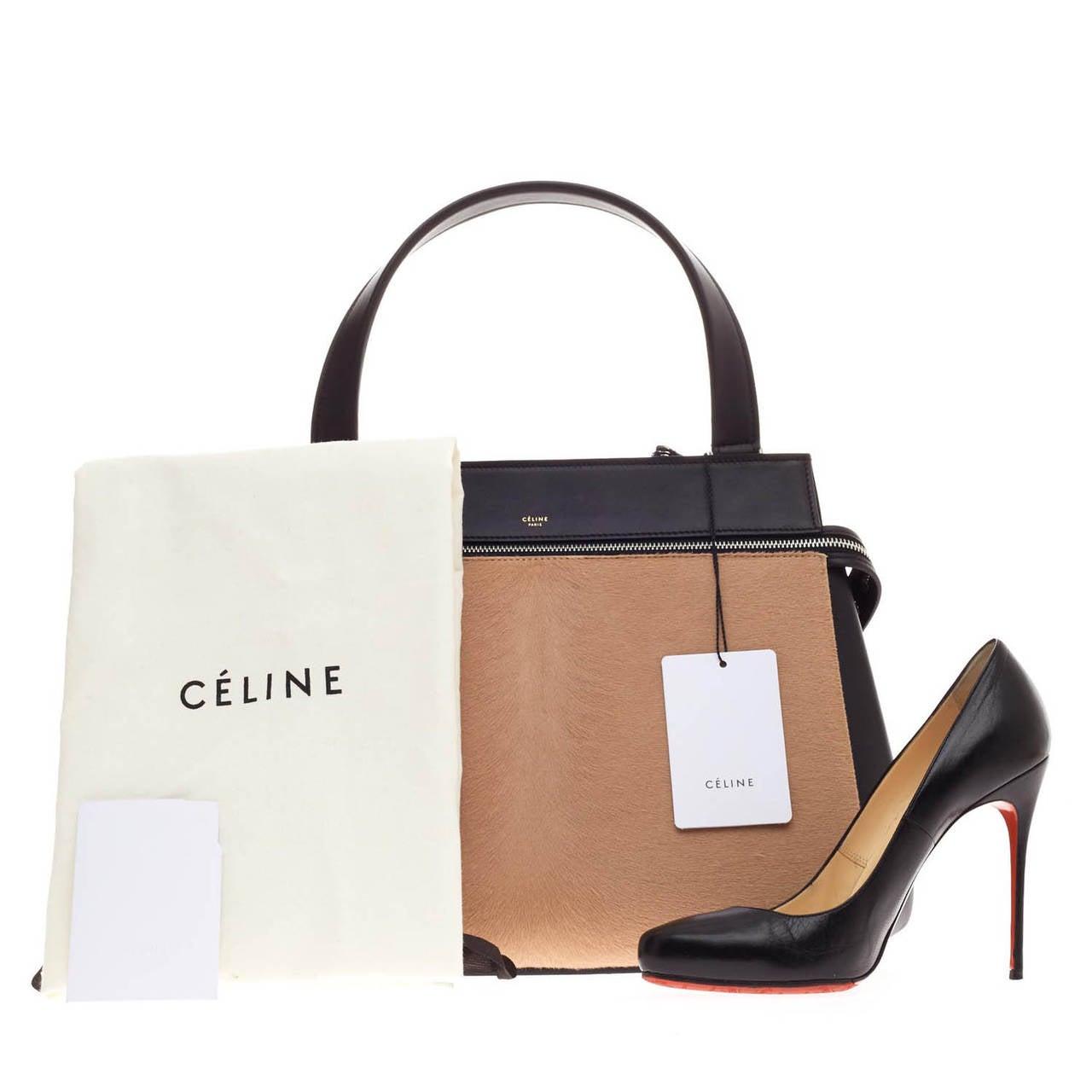 celine croc luggage tote - Celine Edge Pony Hair Medium at 1stdibs