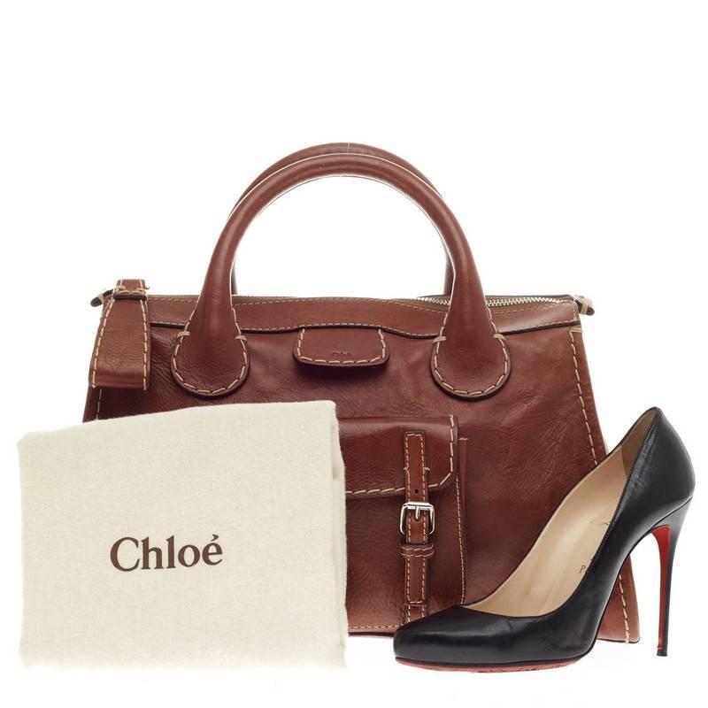 Chloe Edith Satchel Leather at 1stdibs