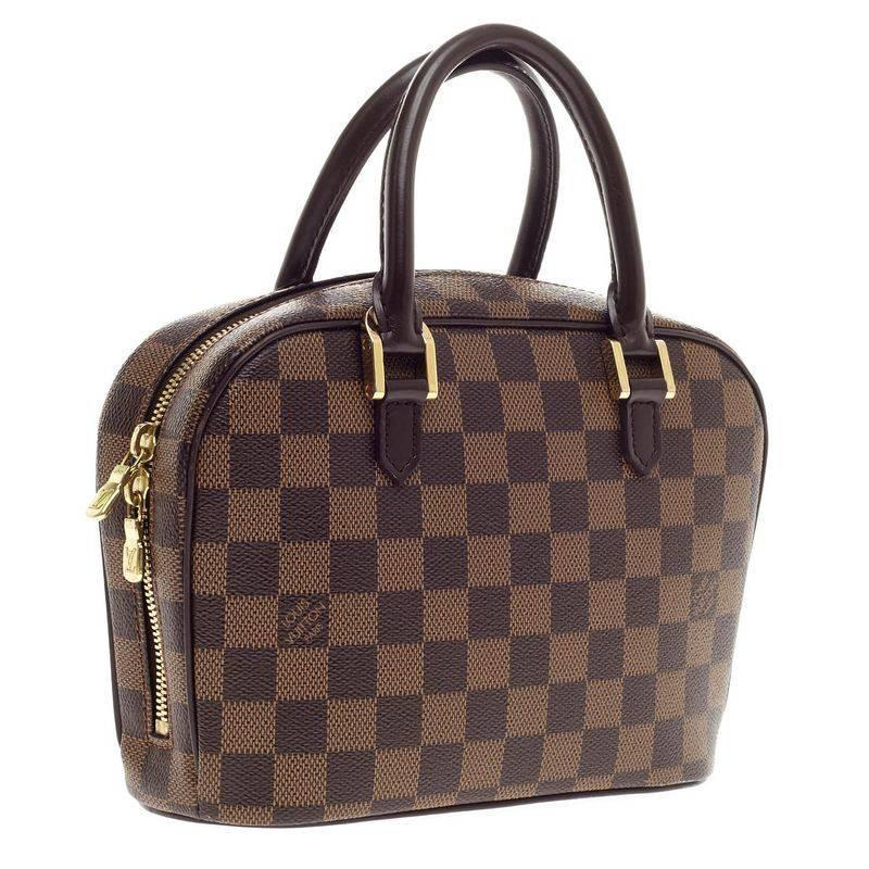 louis vuitton sarria bag damier mini at 1stdibs. Black Bedroom Furniture Sets. Home Design Ideas