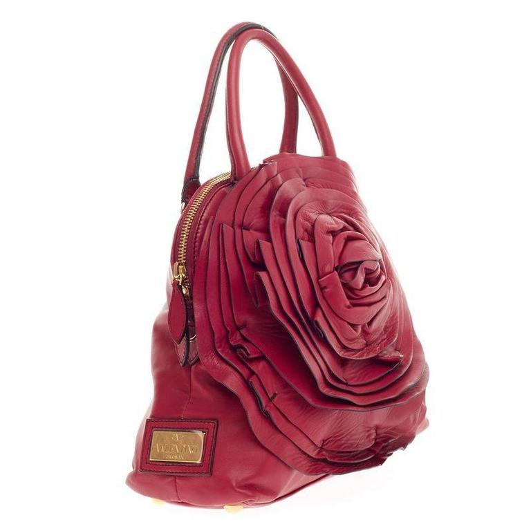 2c826338ed Valentino Petale Dome Bag Leather at 1stdibs
