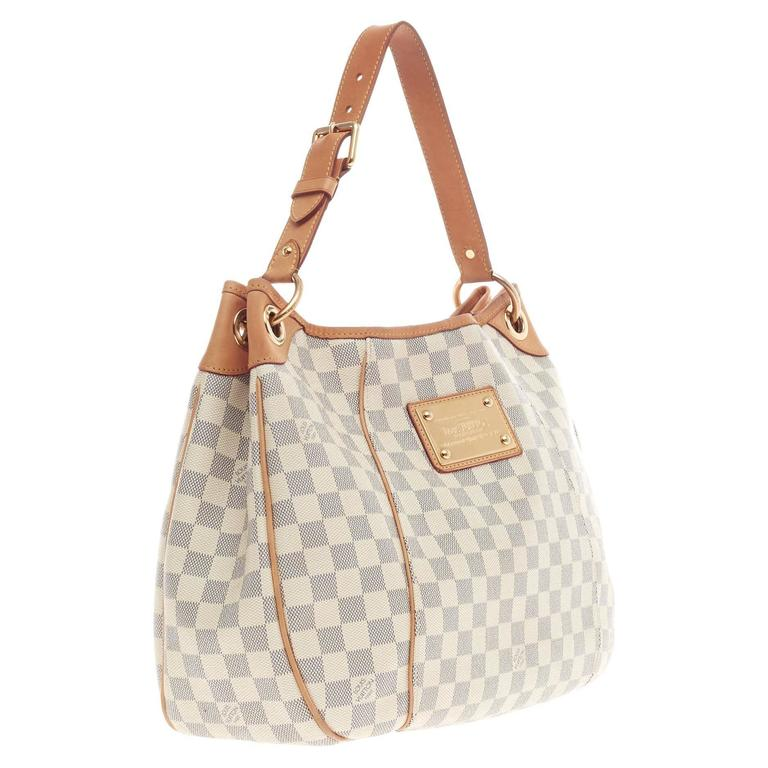 0a6974fe5ae Louis Vuitton Galliera Damier PM In Good Condition For Sale In New York, NY