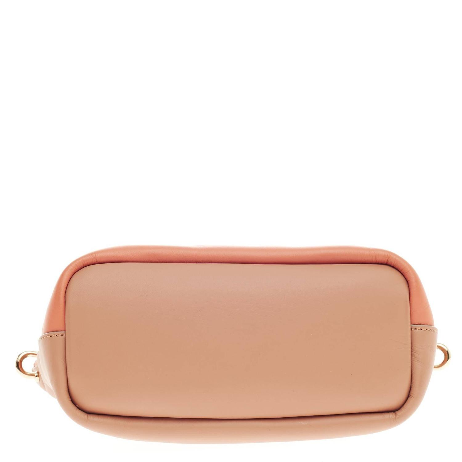 where to buy chloe bags - Chloe Baylee Satchel Bicolor Leather Mini For Sale at 1stdibs